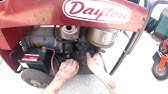 Dayton standby generator (voltage adjustment) - YouTube on