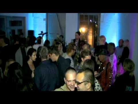 London Fashion Week SS12: Giles Party Concept A-CLASS
