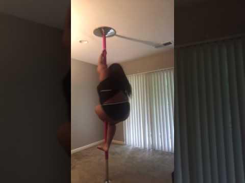 Plus Size Pole Freestyle to Ro James - Burn Slow