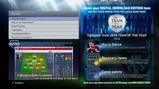 PES 2015 - Screenshots (Menu and Start, Pre Match,  Ingame, End Match)