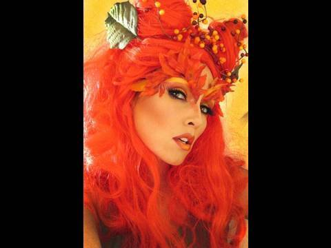 Poison Ivy (Uma Thurman- Batman) Costume Make-Up (by kandee) | Kandee Johnson thumbnail