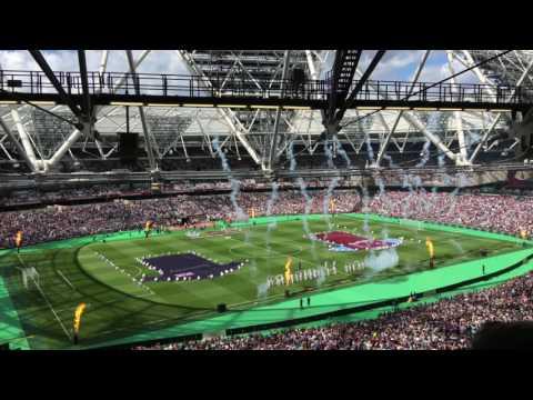 West Ham v. Juventus stadium opening ceremony, Match Day quick vlog