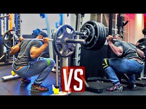Smith Machine Squats SUCK vs Free Weights   Gabriel Sey