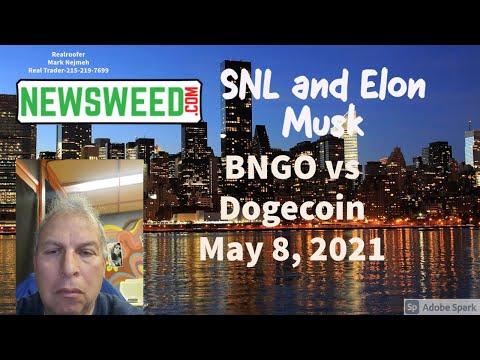 Dogecoin Vs BNGO May 8, 2021 05 08 20 07 56