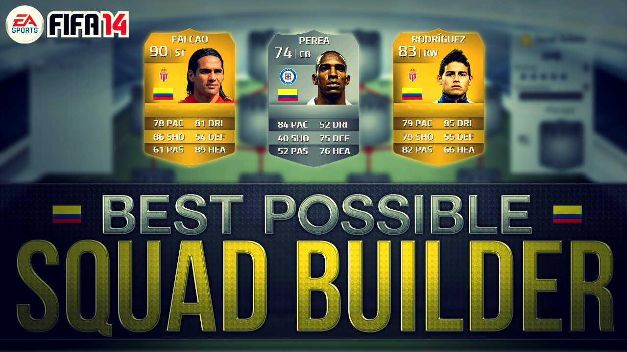 Fifa Ultimate Team Team Builder