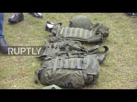 Russia: Armed Forces test new Kalashnikovs and 'Warrior' combat suits