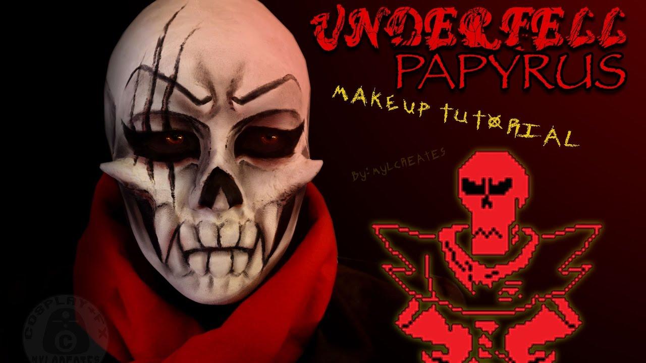 underfell papyrus картинки