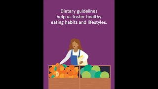 More than 100 countries worldwide have developed food-based dietary guidelines to provide simple, science-based recommendations for healthy living. but, ...