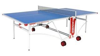 Всепогодный Теннисный стол Donic Outdoor Roller De Luxe(, 2015-07-20T22:51:08.000Z)