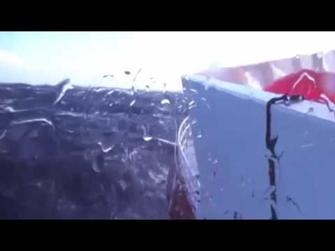 MH370 Underwater Search  Winter weather aboard the Fugro Discovery  - 2016 HD