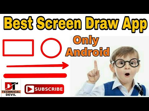 Best Screen Draw App For Android | Best App For Android To Make Professional Video  | Devil Tricks