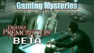 Gaming Mysteries: Deadly Premonition(Rainy Woods) Beta (360 / PS3)