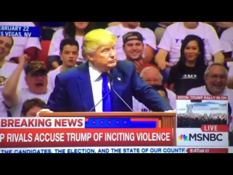 Trump's comments that incite violence
