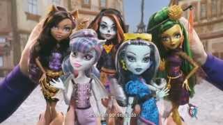 monster high anuncio scaris city of frights
