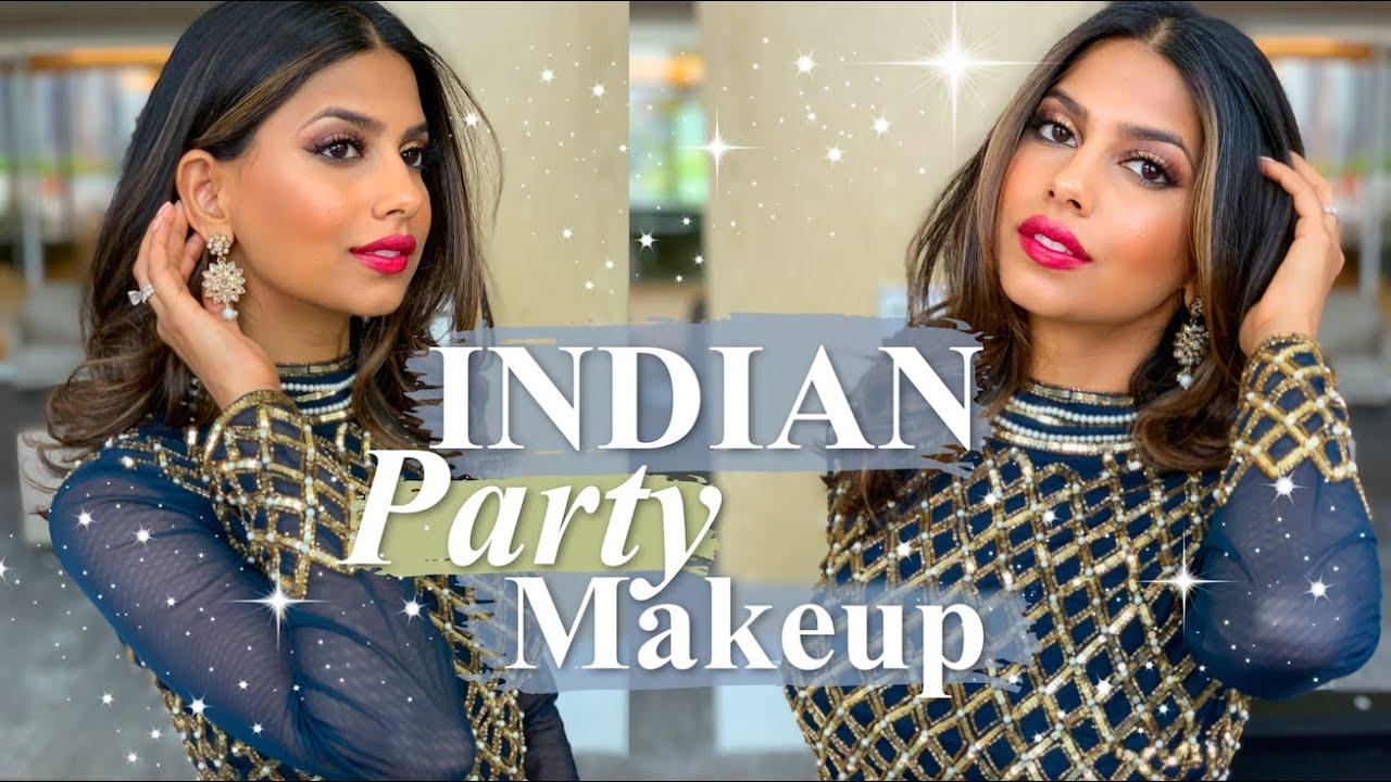 INDIAN Wedding Guest Makeup!