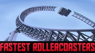 Top 5 Fastest Roller Coasters In the World POV