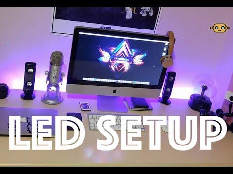 Tira de led rgb mejora tu setup iluminaci n led youtube - Tiras de led rgb ...