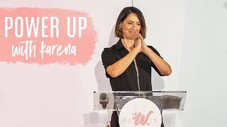 Tone It Up's Karena Dawn Shares Her Motivational Story | Locale PoWer Up Woman's Conference