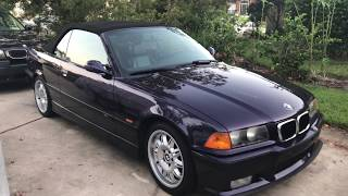 1999 BMW M3 Convertible Walk around Techno Violet