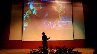 Hafiz Hamidun Nur Kasih Live at UTM KL