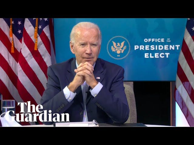 Joe Biden warns of 250,000 further Covid deaths 'between now and January'