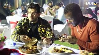 Peshawar Zalmi Team Dinner hosted by Chairman Javed Afridi