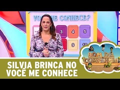 Bom Dia E Cia (14/04/16) - Silvia Abravanel Brinca No Você Me Conhece