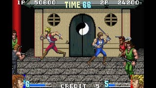 Double Dragon Advance GBA 2 player 60fps