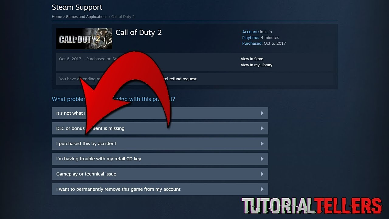How to refund steam games youtube how to refund steam games ccuart Gallery