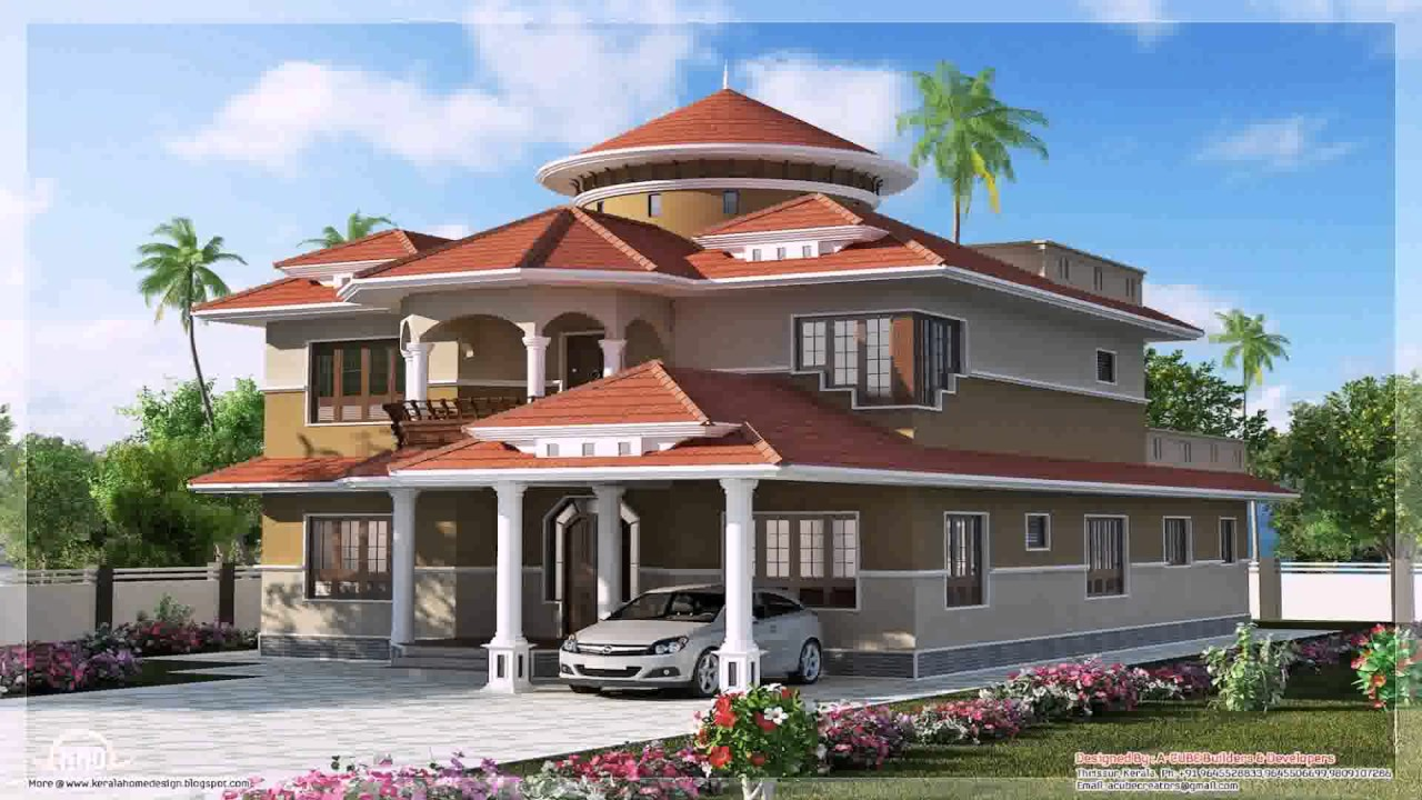 Dream House Design Drawing Youtube