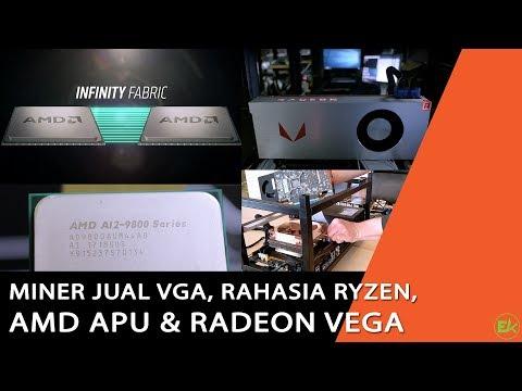 Miner Jual VGA | Rahasia Ryzen Menjadi Murah | AMD APU | RX Vega - TOP NEWS