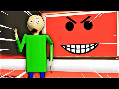 WILL BALDI GET CRUSHED BY THE SPEEDING WALL?! | Roblox