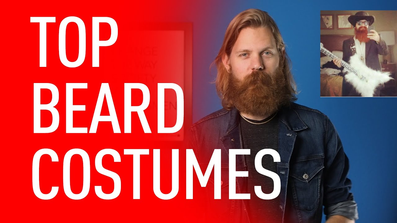 ten best bearded halloween costumes eric bandholz youtube