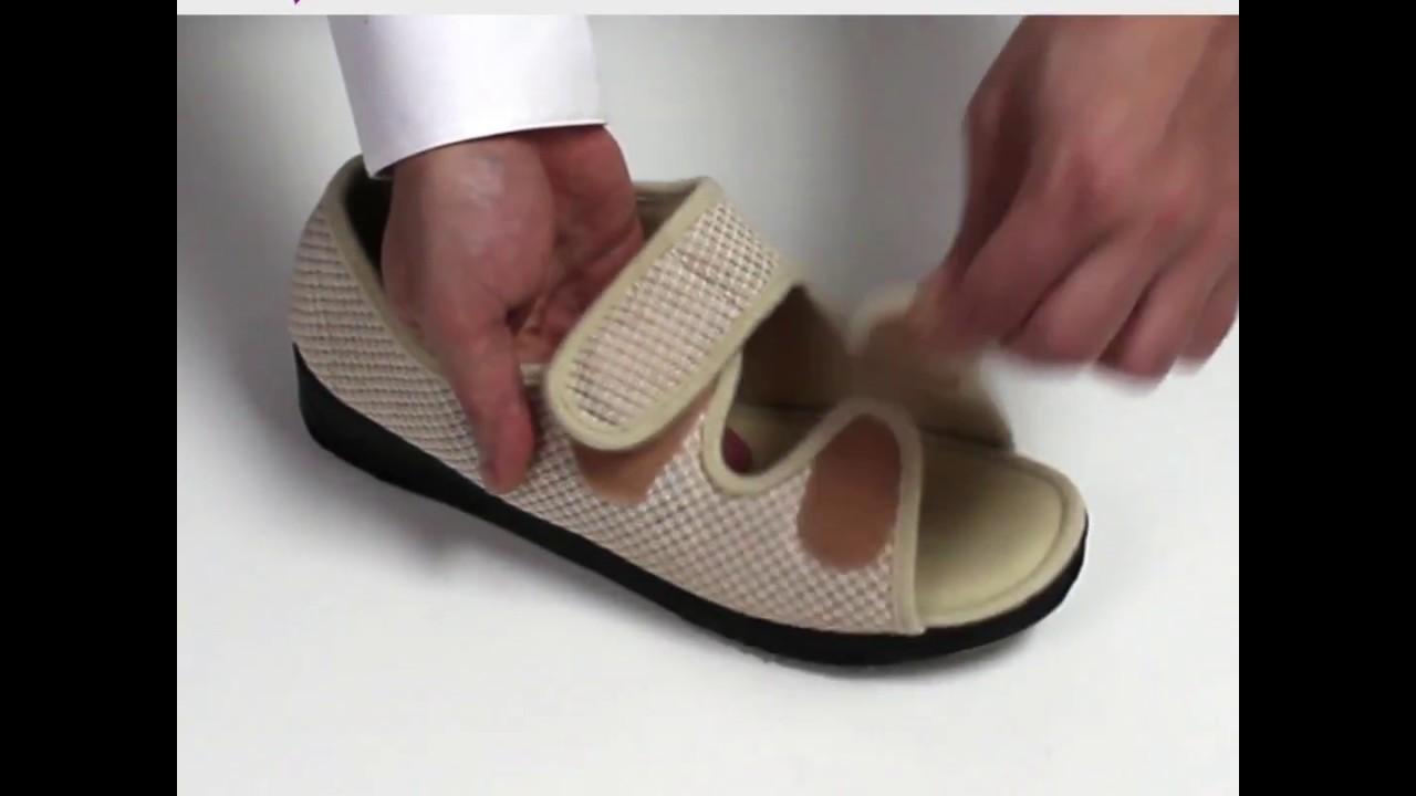 ff247589a804 Women s Wide Width Adjustable Sandals for Seniors