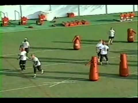 U. of Georgia Defensive Line Drills