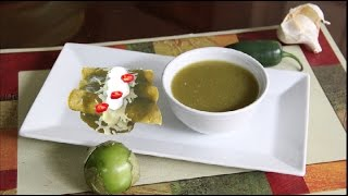 Enchilada Green Chile Sauce Video Recipe By Bhavna  | Mexican Cuisine Basics