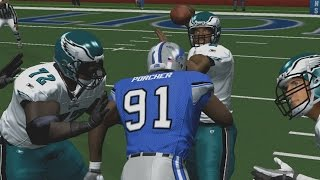 ESPN NFL 2K5 FRANCHISE MODE - LIONS VS EAGLES