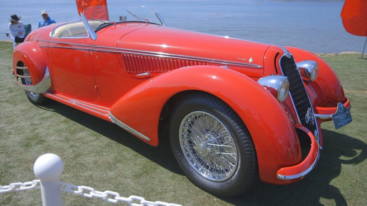 Pebble Beach Car Show The Most Beautiful Cars YouTube - Car show cars