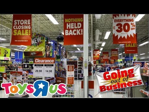 Toys R Us Store Closing Sale | Up To 30% Off!