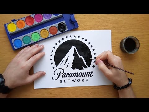 How to draw the Paramount Network logo