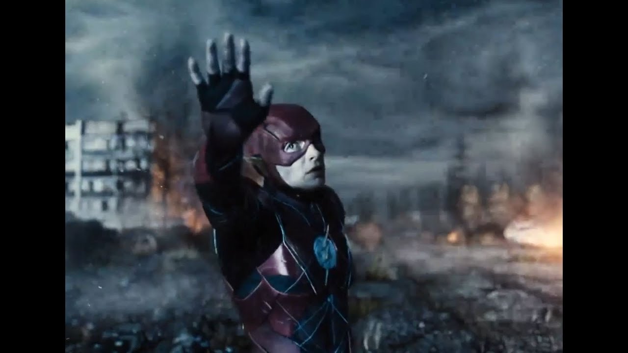 Download Justice League Snyder Cut The Flash Time Travels And Stops The unity