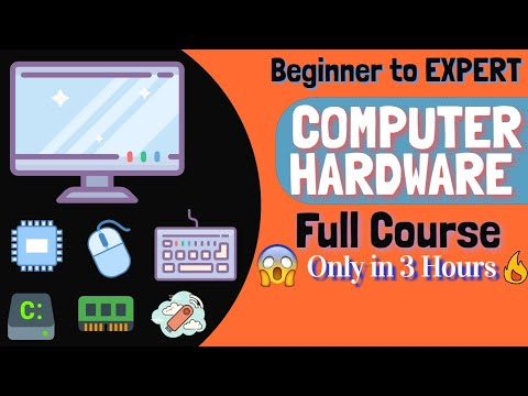Learn Computer Hardware Full Course in One Video | Beginner to Expert level | [HINDI]