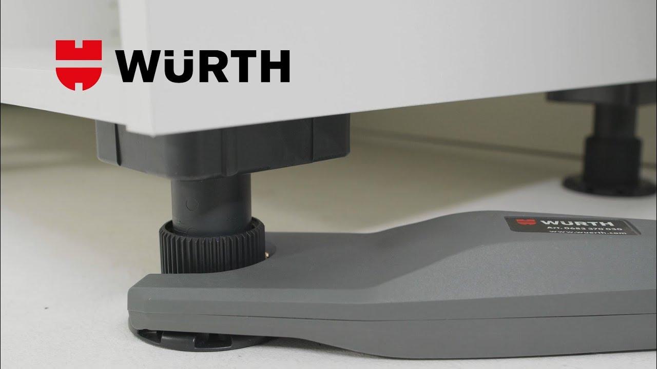 Pince de réglage à batterie pour pieds de meuble - Würth