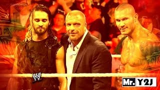 WWE Evolution With Seth Rollins Titantron Entrance Video 2014 Seth Rollins Joins Evolution HD