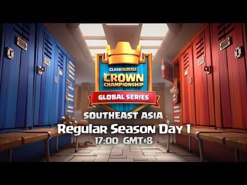 CCGS SOUTHEAST ASIA | DIA 1 | TMD ARON Y YAO YAO  |  Crown Championship