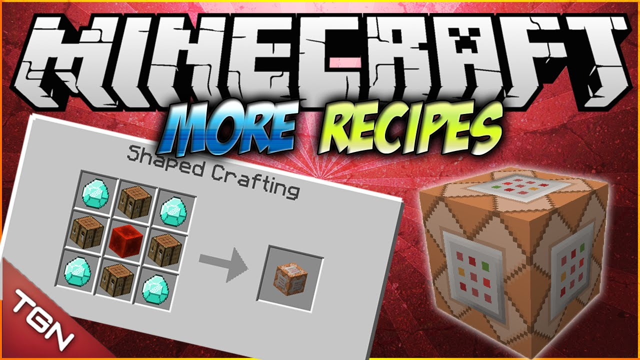 More Crafting Recipes Mod