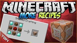Minecraft 1.7.10   More Crafting Recipes MOD   [ Craftea el bloque de comandos, bedrock y mas! ]