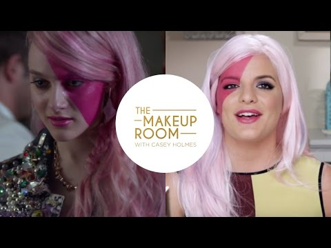 The Makeup Room with Casey Holmes: Get Aubrey Peeples' look from Jem and the Holograms