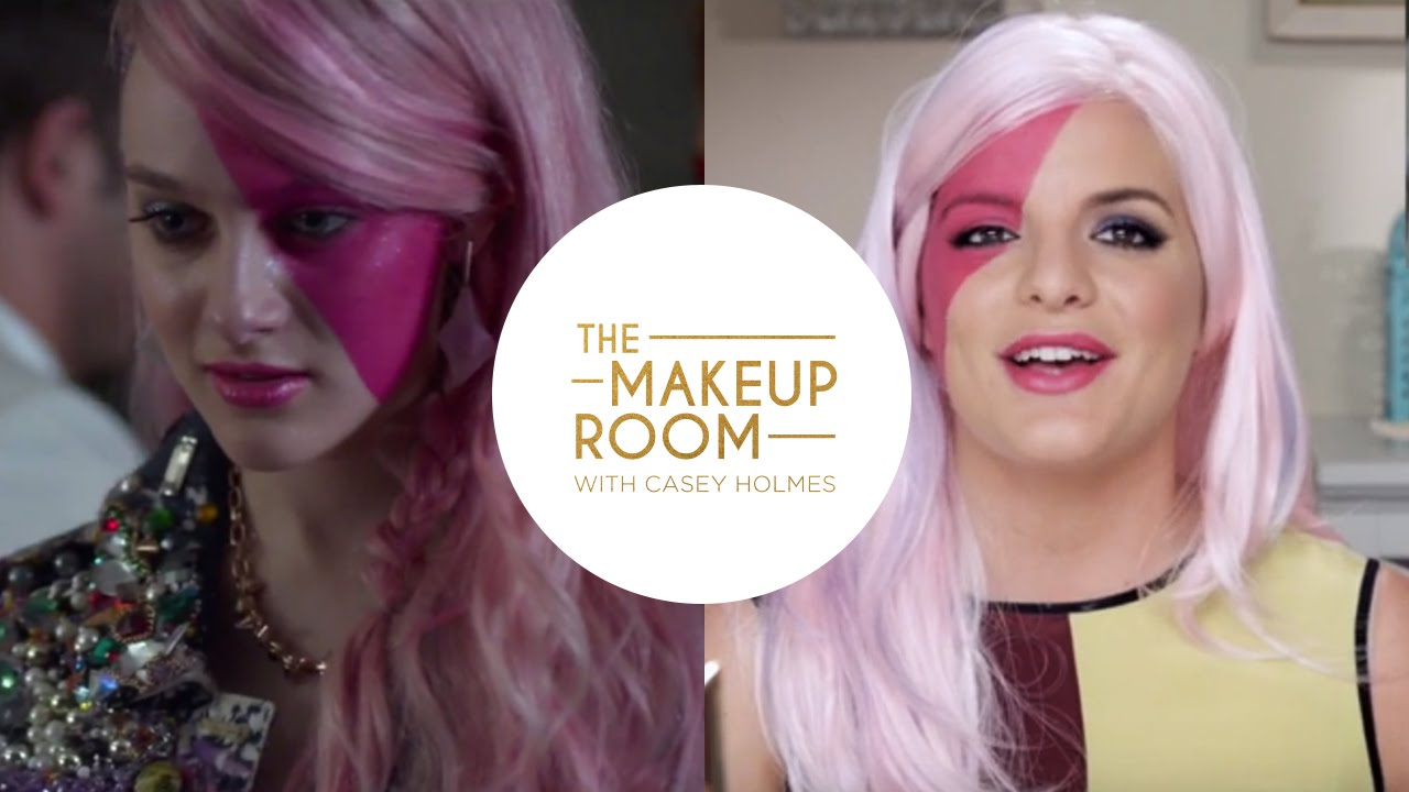 The makeup room with casey holmes get aubrey peeples look from the makeup room with casey holmes get aubrey peeples look from jem and the holograms youtube ccuart Images