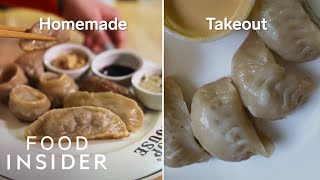 Trained Pastry Chef Attempts To Recreate Brooklyn Chop House Dumplings | Homemade Takeout